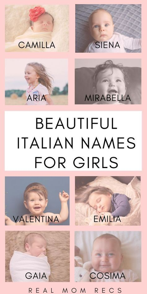 Popular Italian Boy Names: Find A Name For Your Baby!