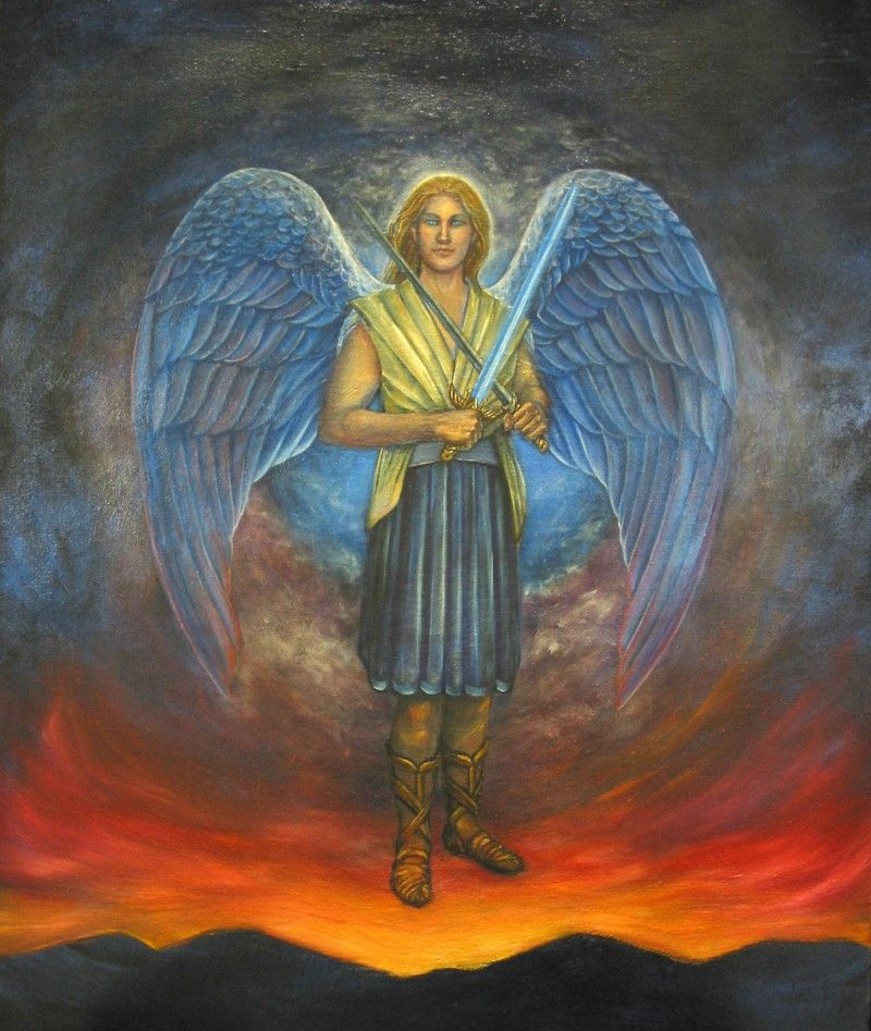 Archangel Michael's Blue Ray Angel Number