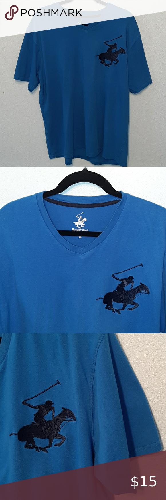 Beverly Hills Polo Club Men S Shirt Size Xl Beverly Hills Polo Club Polo Club Mens Shirts