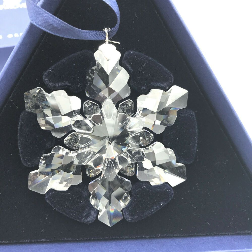 Swarovski 2008 Annual Edition Christmas Ornament Snowflake ...