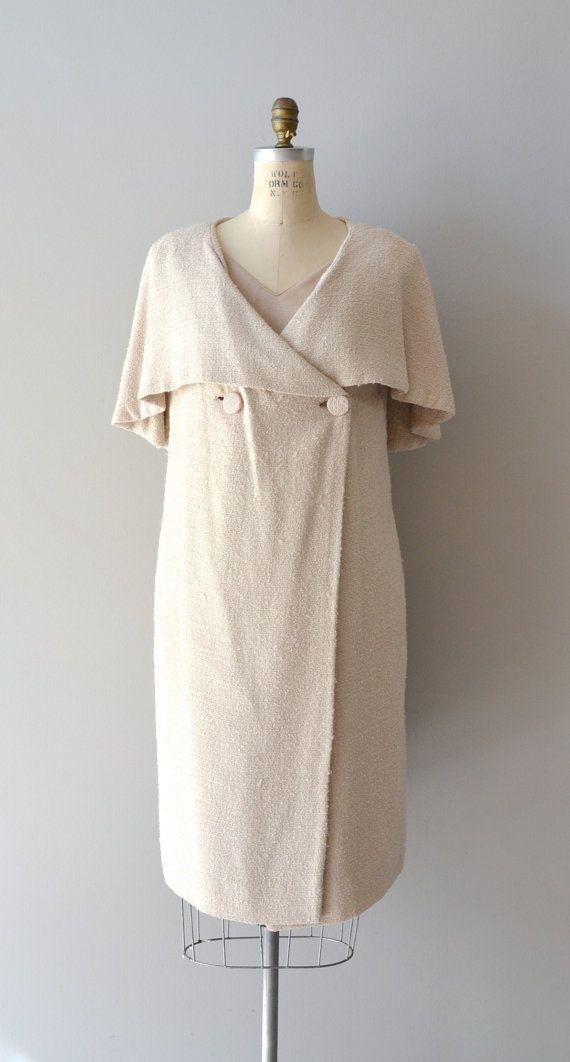 1960s dress / twopiece vintage 60s dress / Adde