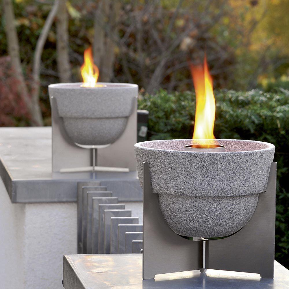 Gewaltig Schmelzfeuer Outdoor Beste Wahl 2.0 Kerzen-recycling-gartenfackel Aus Granicium