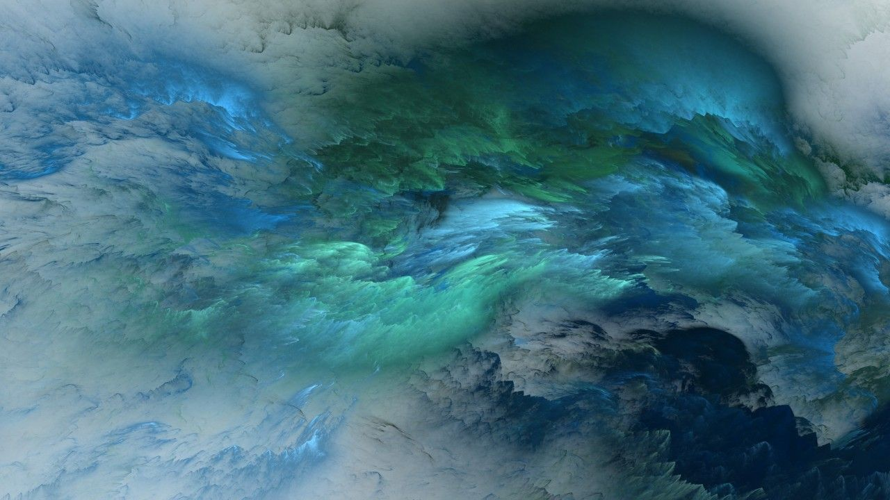 Clouds, 4k, 5k wallpaper, 8k, abstract, blue, live
