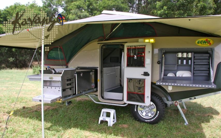 Excellent OffRoad Camper Trailer  Kimberley Kampers Camping Kitchen  YouTube