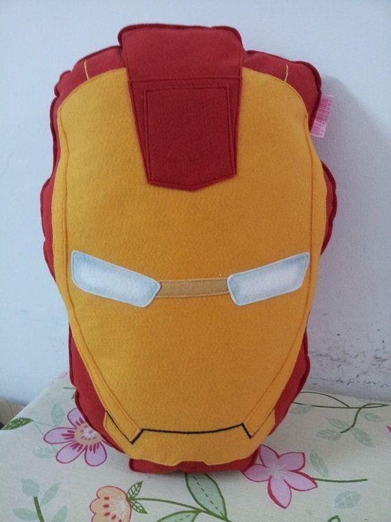 ironman cushion iron man mask man
