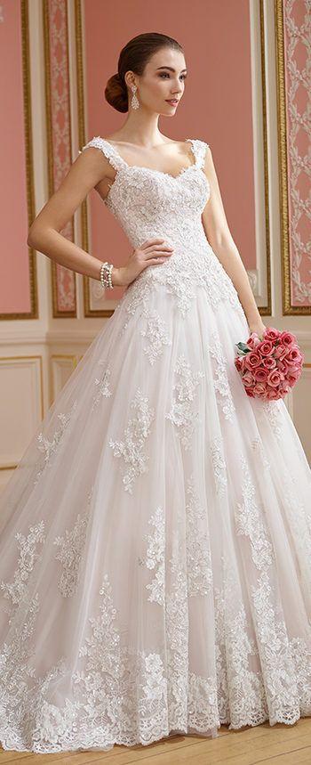wedding dress inspiration - david tutera