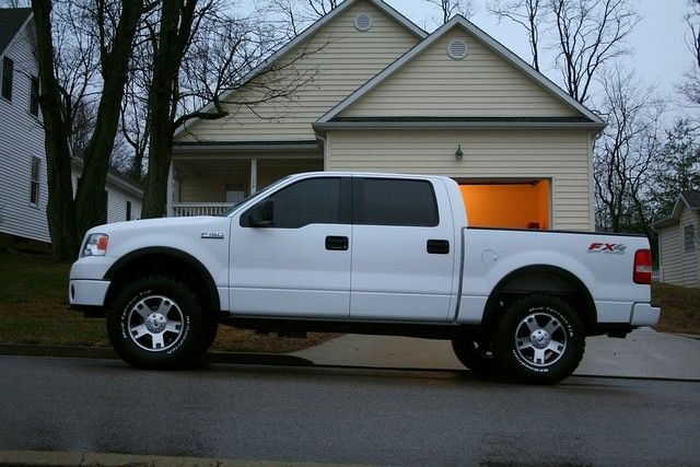 Ford F Tire Size