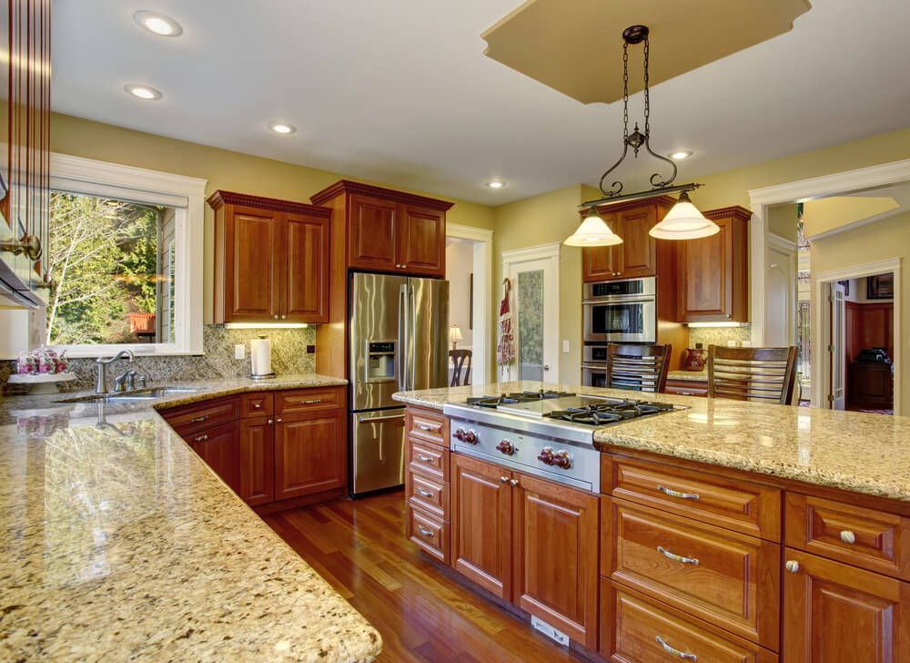 111 luxury kitchen designs granite countertops for Beautiful traditional kitchens