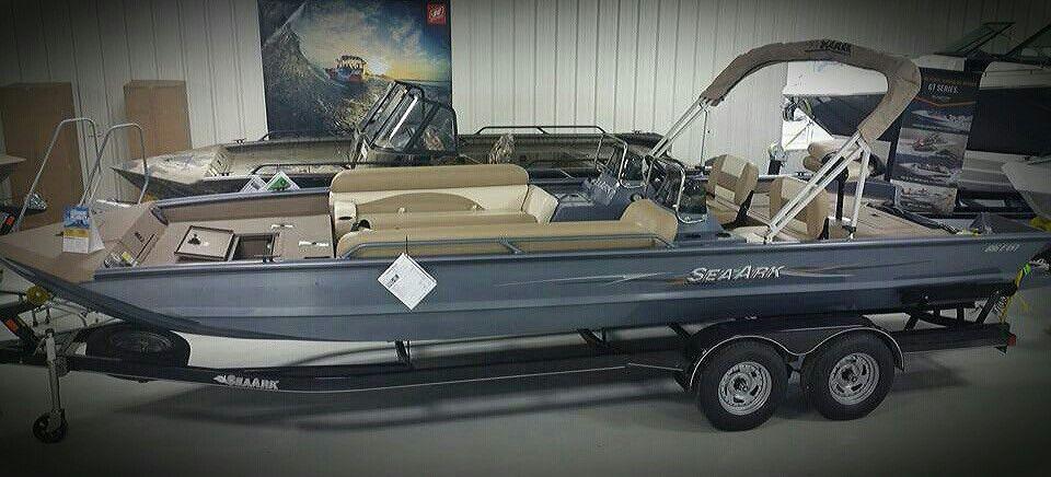 2016 seaark big easy 24 taylorville il mud boats