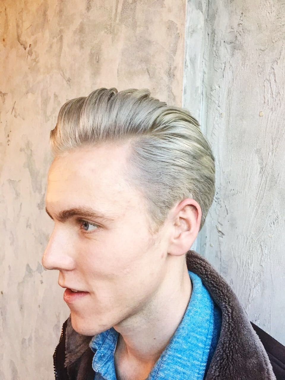 Classic Slicked Back Men S Haircut And Hairstyle London Hairdresser For More Hairstyles And Our List Of Hair S London Hair Salon Best Hair Salon Salon London