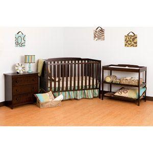 Storkcraft Turin Nursery Bundle Espresso Walmart Com Nursery Furniture Sets Changing Table Dresser Baby Crib Sets