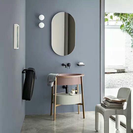 Bathroom Mirror Ideas Diy For A Small Bathroom インテリア カラー トイレ インテリア 居家