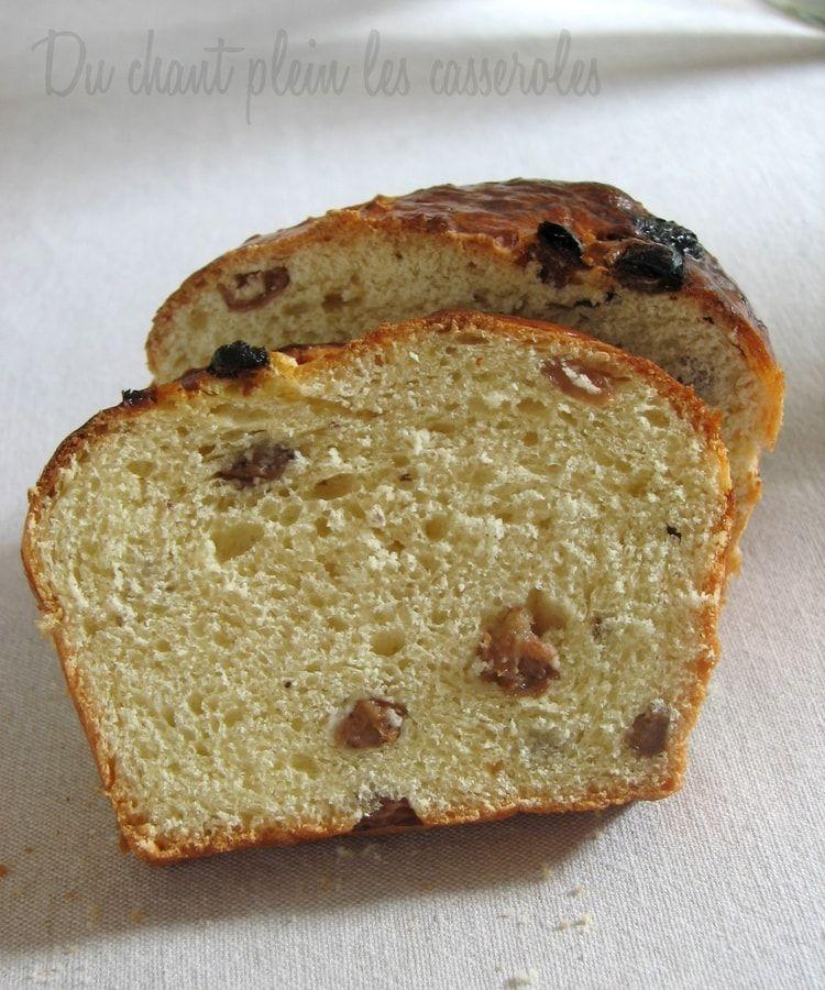 Cramique aux raisins (à la machine à pain) | Recette | Cramique ...