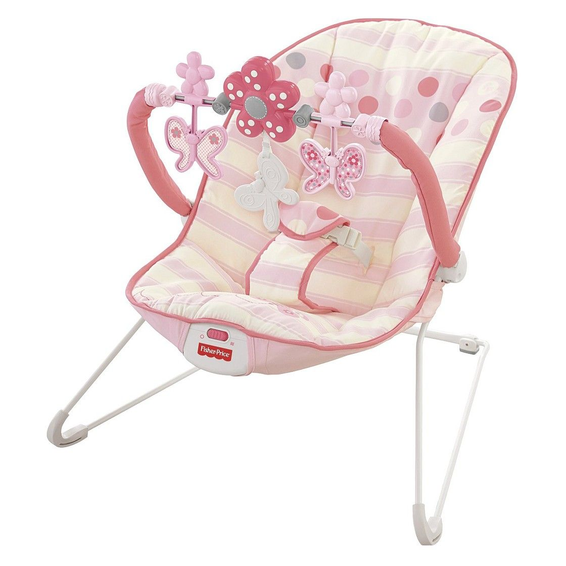 9b2312c96624e Fisher-Price Bouncer - Pink Butterfly | baby items needed | Best ...