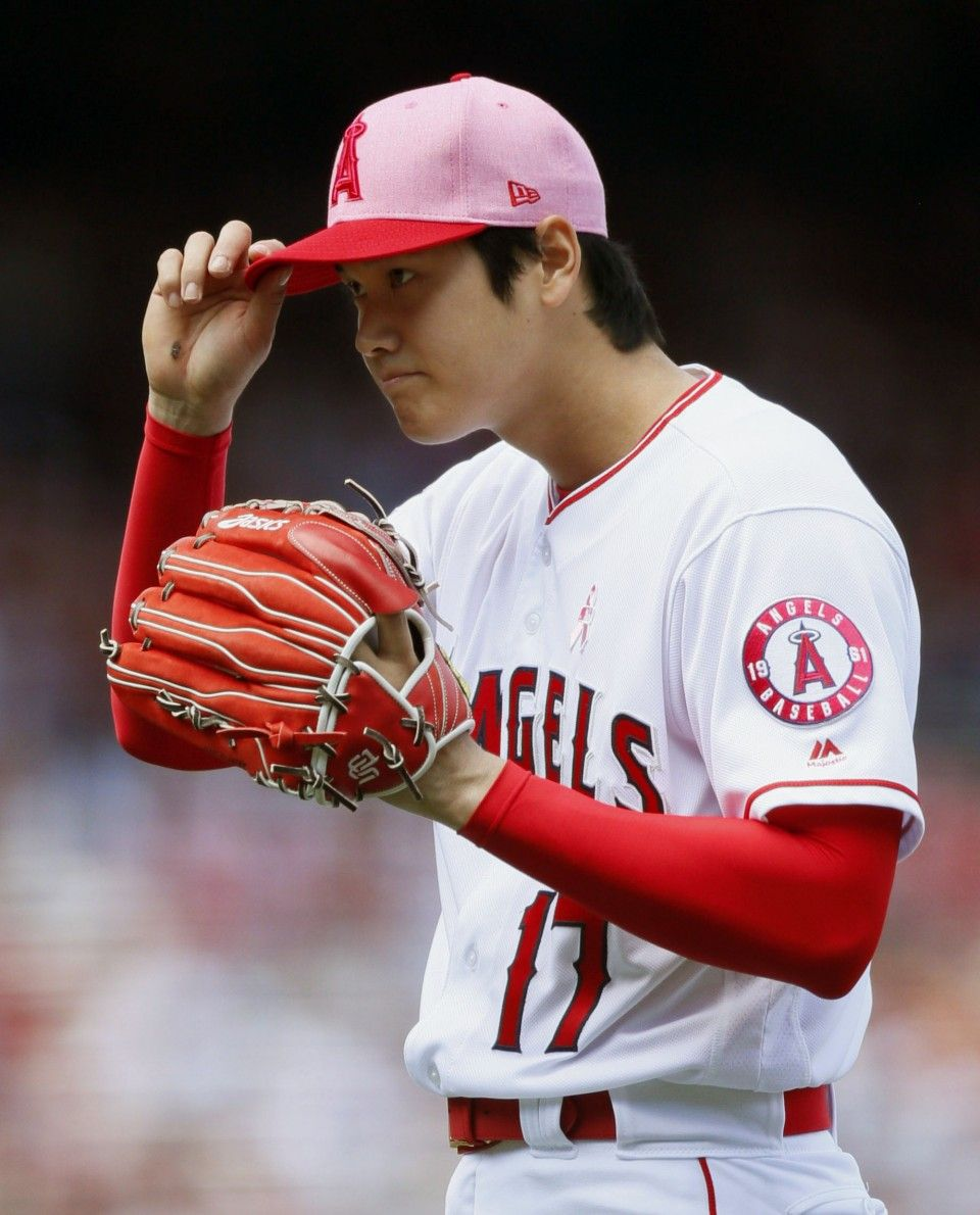 baseball shohei ohtani dominant in 6th start as angels beat twins 2