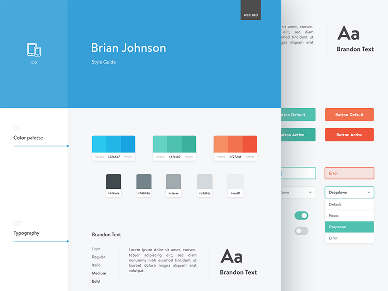 Style Guide Inspirations Website Style Guide Style Guide Design Style Guides