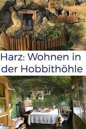 Photo of Langenstein cave dwellings: At the Hobbits in the Harz Harz Hobbit cave This …