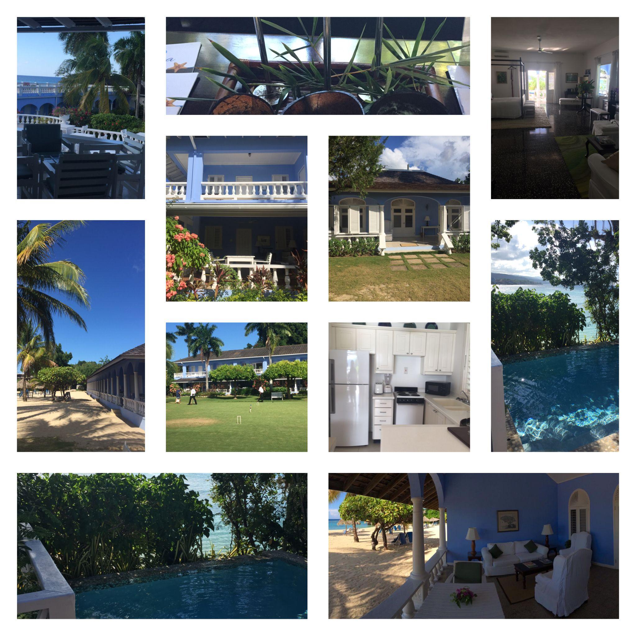 Ocho Rios-Jamaica Inn. Leuke cottages met keuken en zwembad, beachfrontsuites met woonkamer buiten. Goed onderhouden, sfeer.