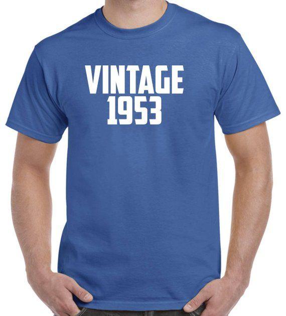65th Birthday Gift Vintage 1953 Shirt For Men Women