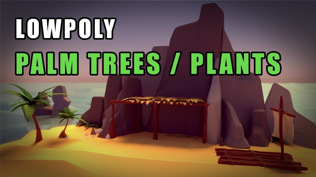 Blender tutorial low poly palm trees and plants blender blender tutorial low poly palm trees and plants baditri Choice Image