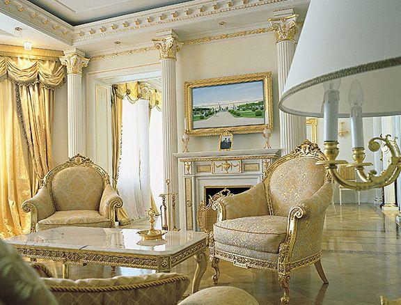 Empire Style In The Interior Interior Design Seminar Elegant Home Decor Elegant Homes Trending Decor