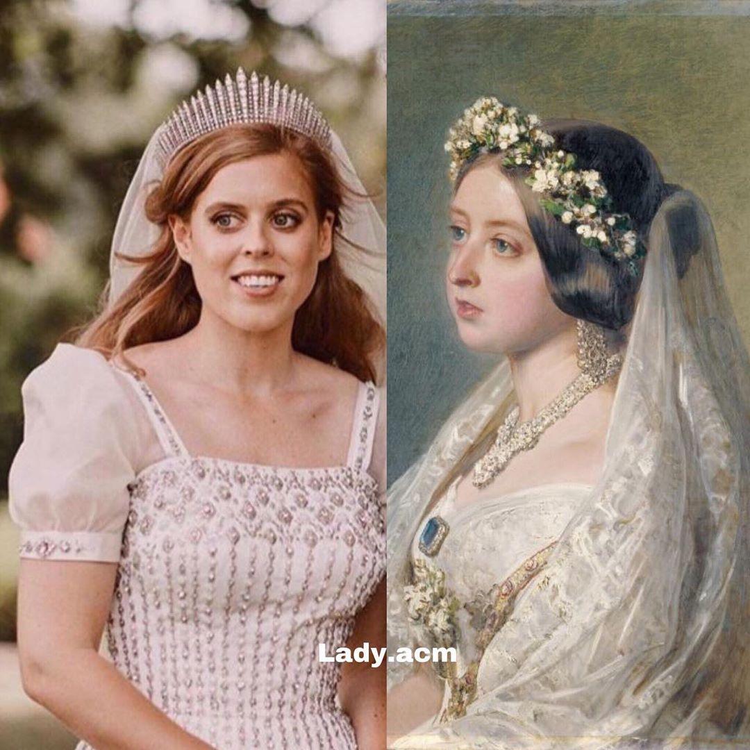 "Lady AcM🌺🌸 on Instagram ""🇬🇧👑 Princess Beatrice looks very"