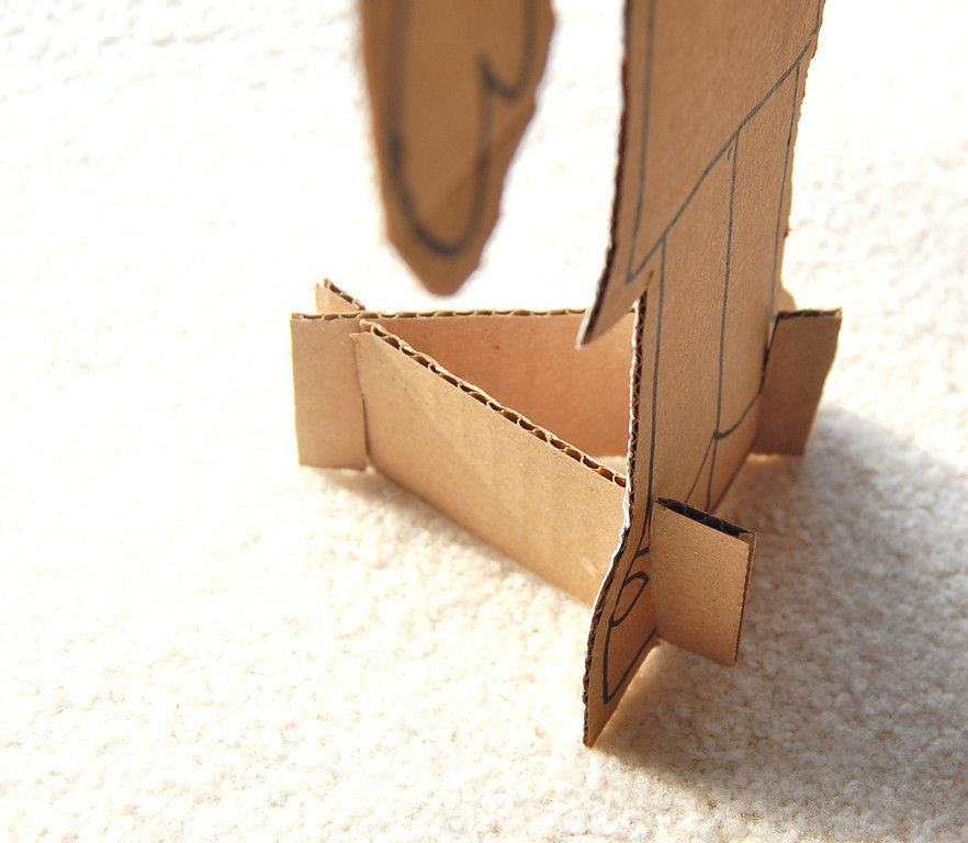 tips on working with cardboard diy craft projects from