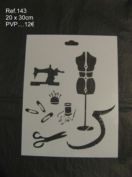 Catalogo stencils con Ref. - Lucia Sapena - Álbumes web de Picasa