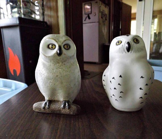 Ceramic Owls Pod Edgecomb Potters Vintage Studio