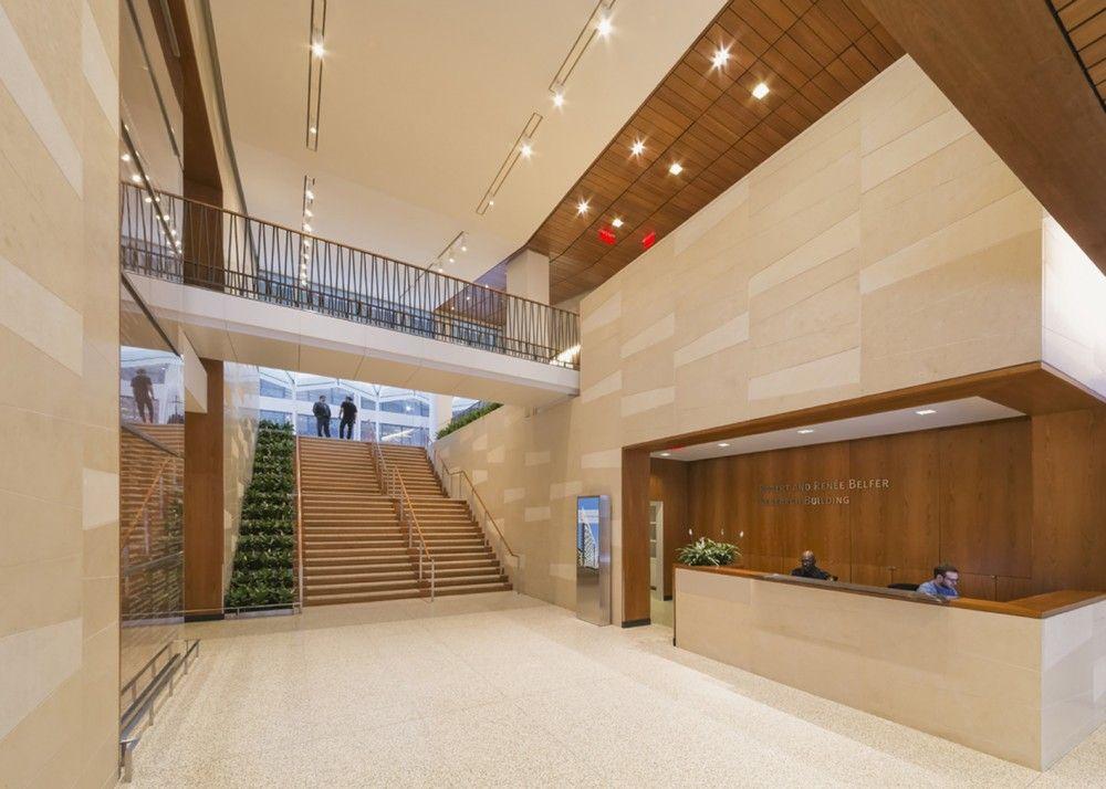 Gallery of weill cornell medical college belfer research - Cornell university interior design program ...