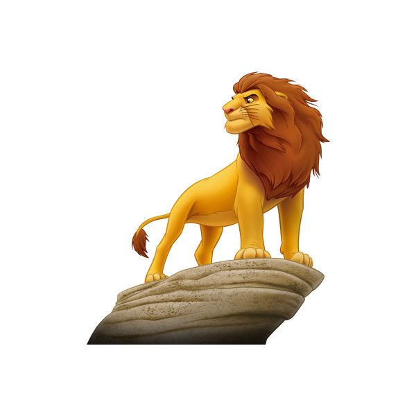 Mufasa ❤ liked on Polyvore featuring disney, characters and art