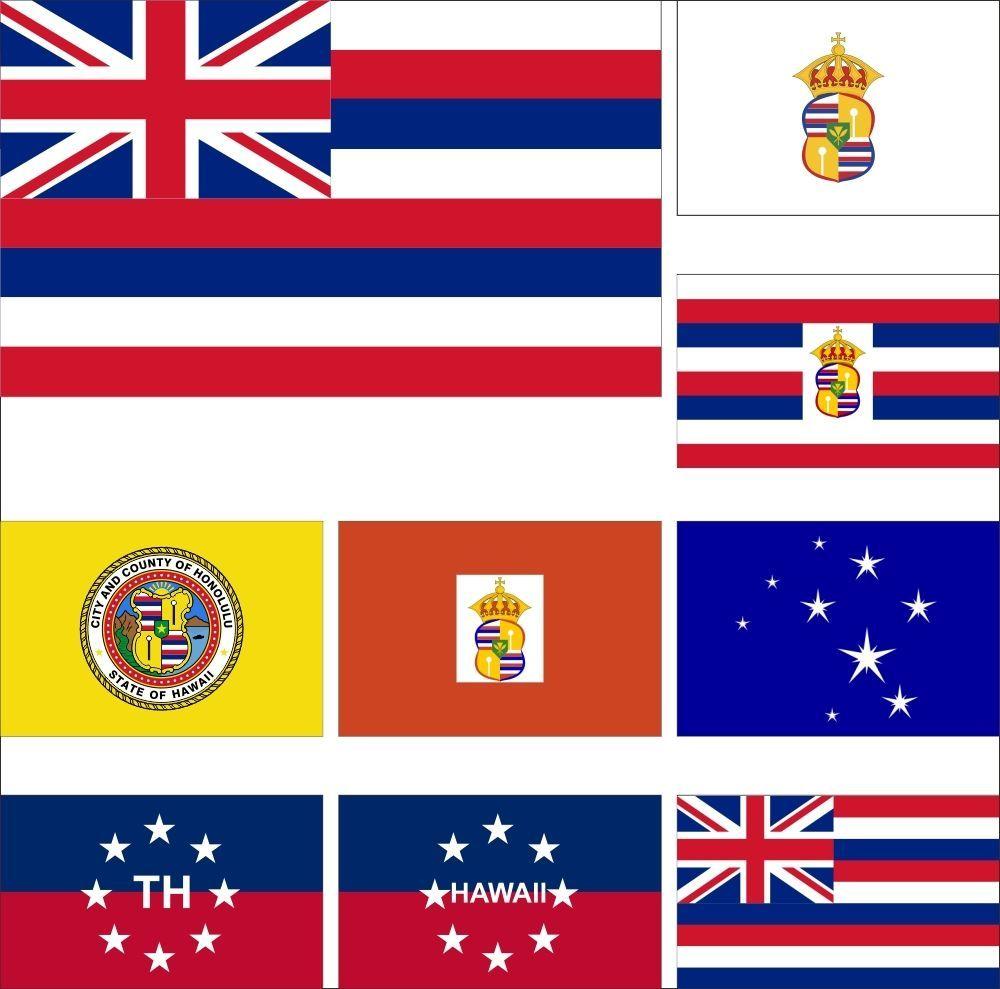 Us Hawaii Flag 3x5ft Honolulu Princess Kaiulani King Kalakaua Governor Royal Hawaii Flag Flag Hawaii