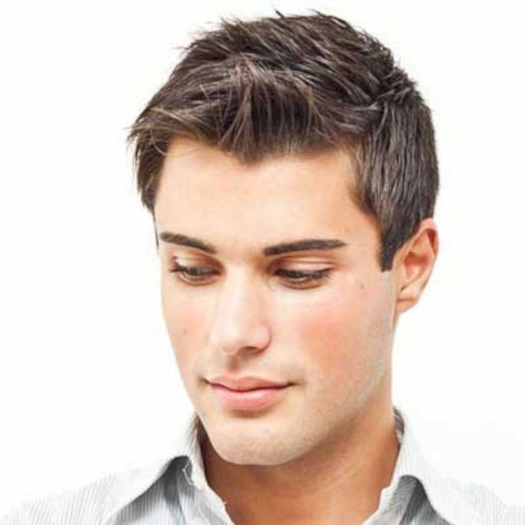 18+ Haircuts for guys with thick straight hair ideas
