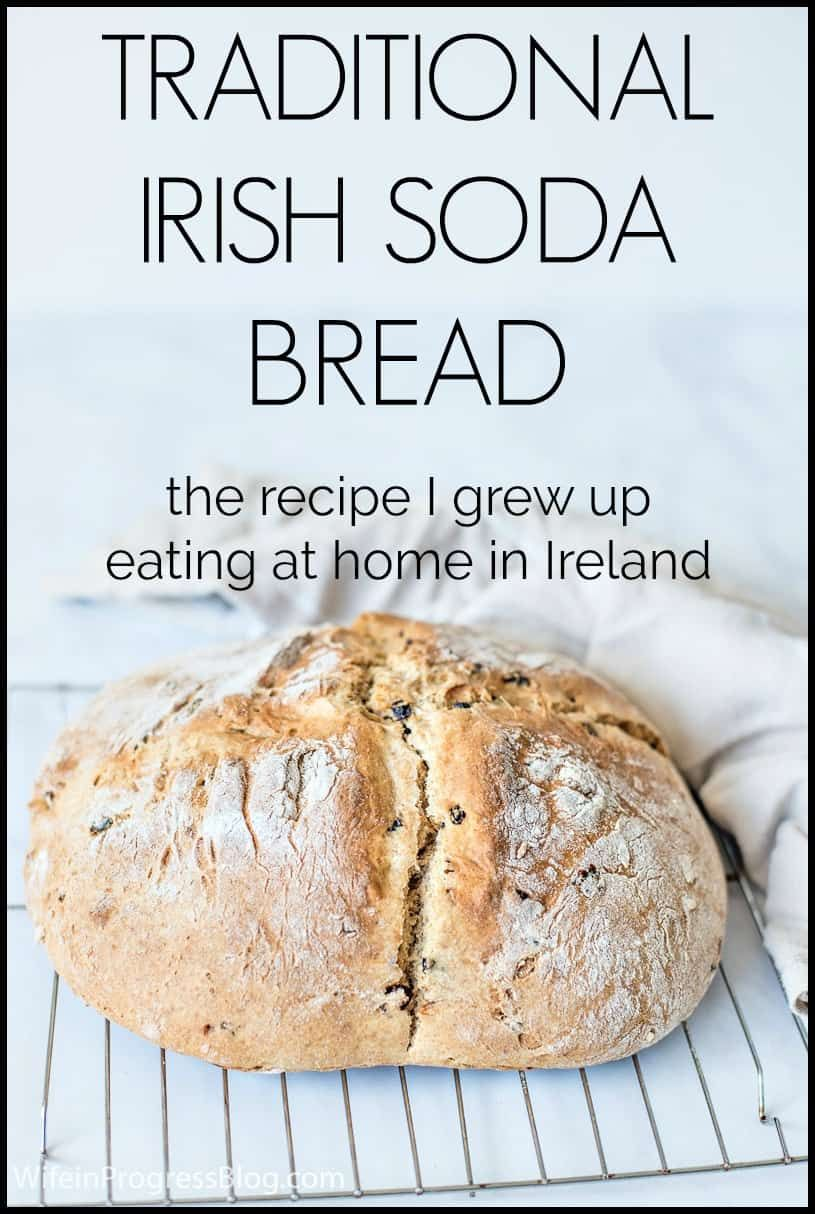 A Traditional Irish Soda Bread Recipe From Someone Who S Actually From Ireland It Only Has A F In 2020 Traditional Irish Soda Bread Irish Soda Bread Recipe Soda Bread