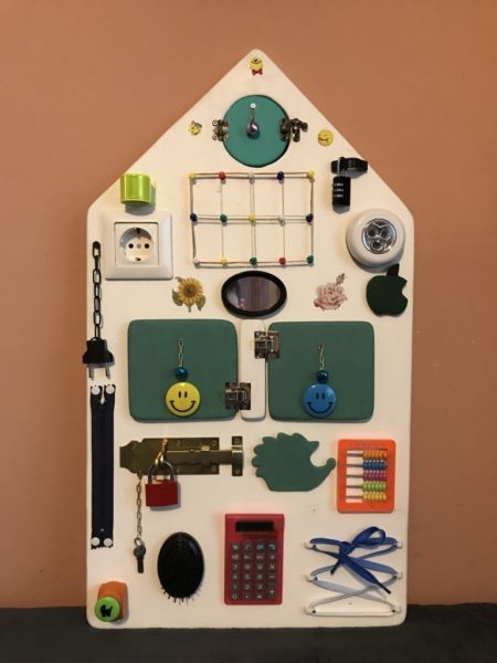 f r kinder motorik busy board activity board in berlin. Black Bedroom Furniture Sets. Home Design Ideas