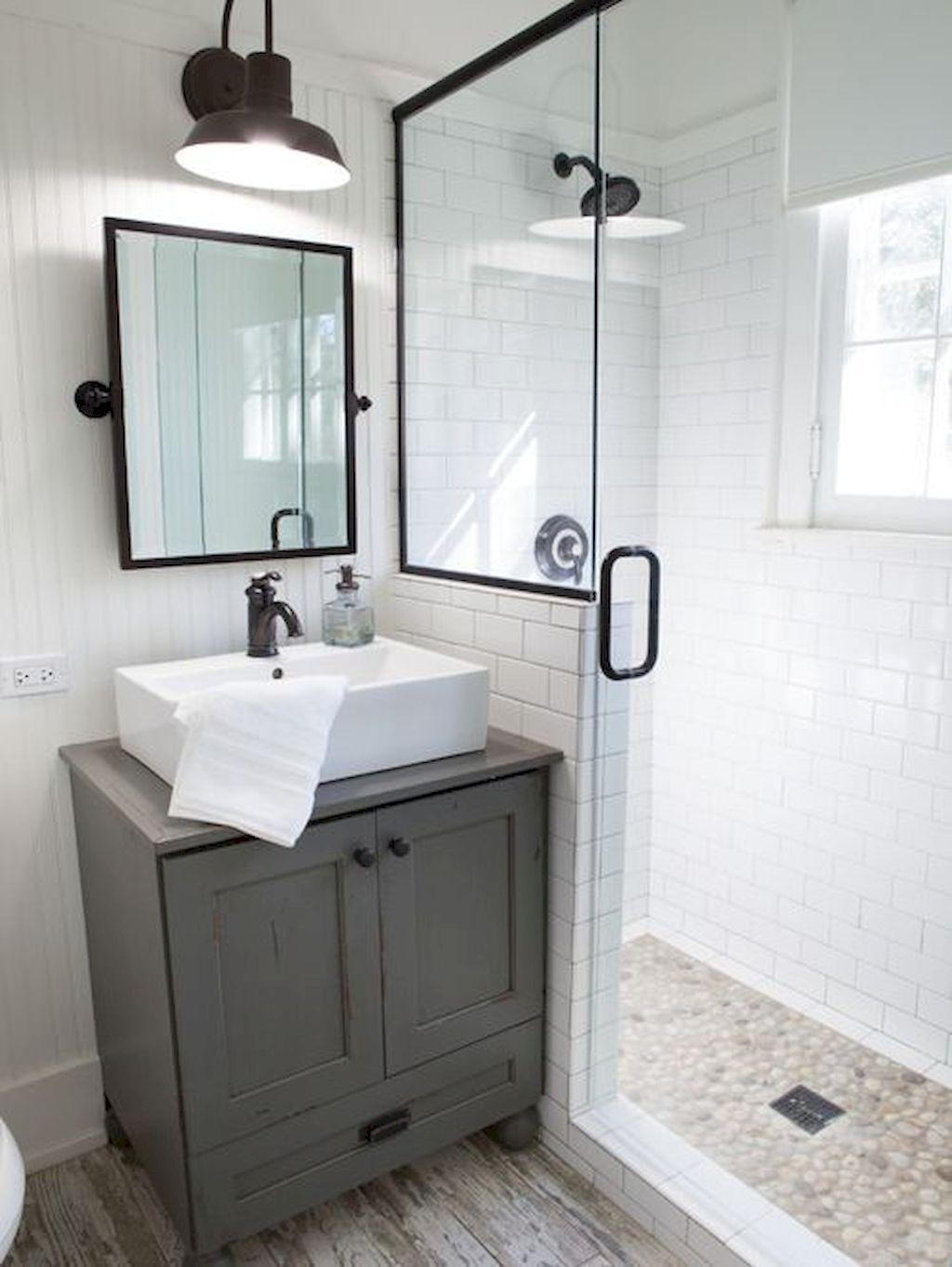 Nice 150 Stunning Small Farmhouse Bathroom Decor