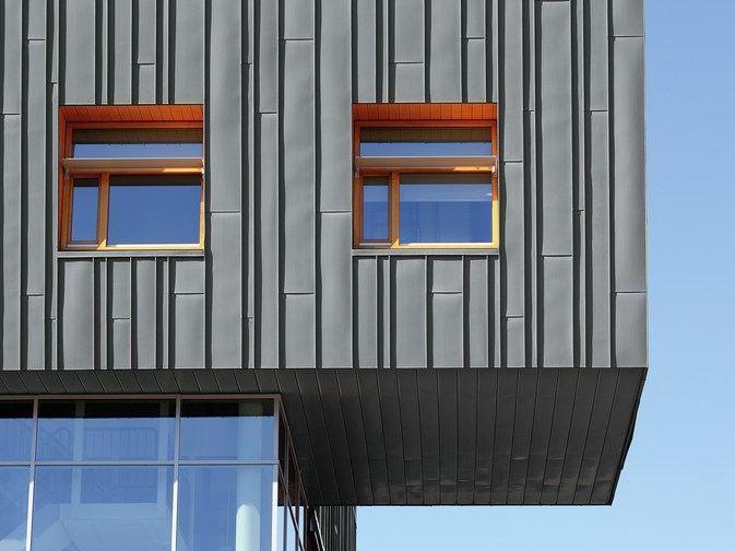 Titanium Zinc Continuous Metal Laminate For Roof By