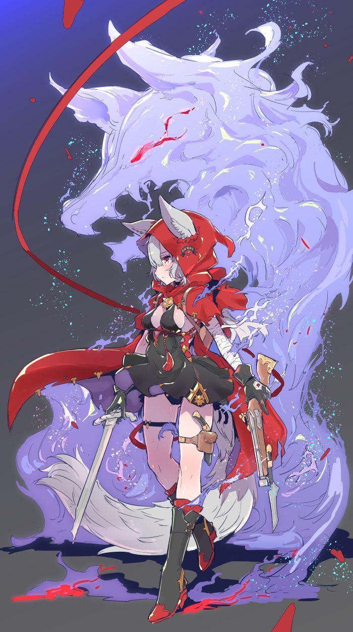 Weapons fantasy girls pinterest weapons anime and - Anime girl with weapon ...