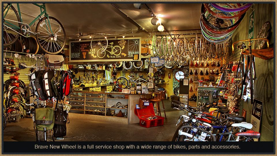 Brave New Wheel Bike Shop Ft Collins Full Service Shop With