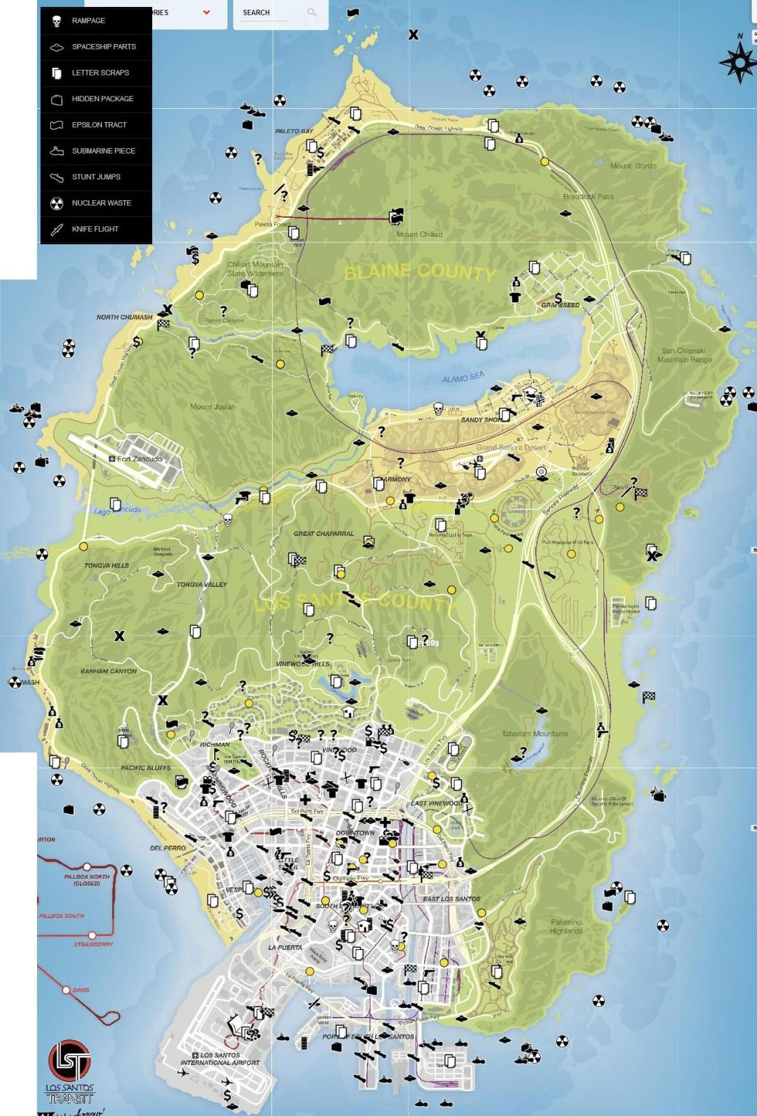 gta 5 map cheat