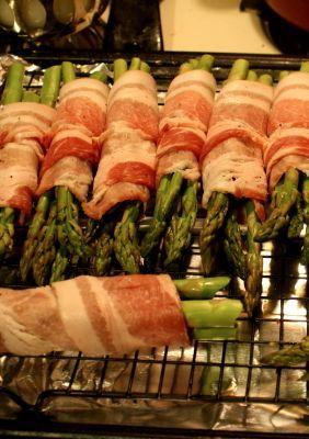 Bacon Wrapped Asparagus Bundles Recipe Recipes Food