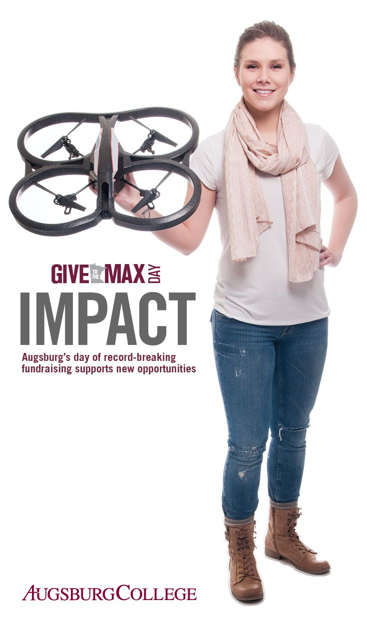 GIVE TO THE MAX DAY 2014: Augsburg's day of record-breaking fundraising supports new opportunities.
