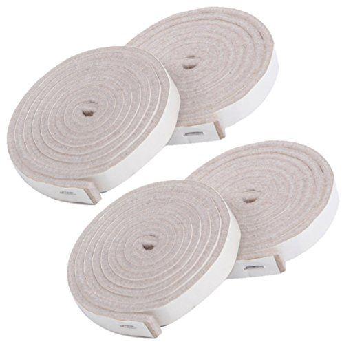From 9.99 Simala Premium Furniture Pads   4 X Heavy Duty Adhesive Self  Stick Felt Strip