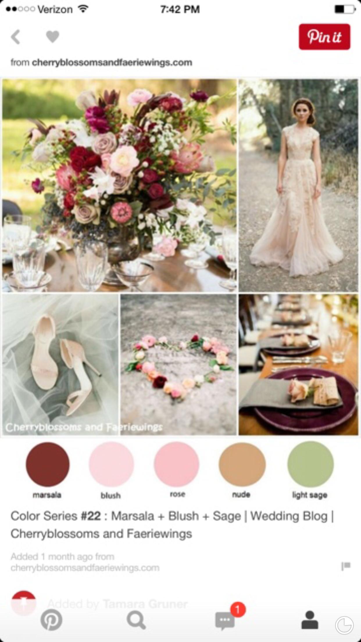 Pink and maroon wedding decor  Plus golds  Wedding ideas  Pinterest  Wedding Weddings and