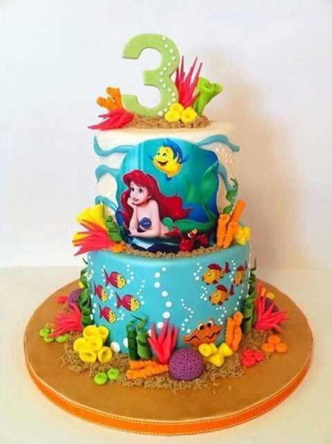 Prime Bolo Pequena Sereia Chocolate Birthday Cakes Smarties Com Birthday Cards Printable Giouspongecafe Filternl