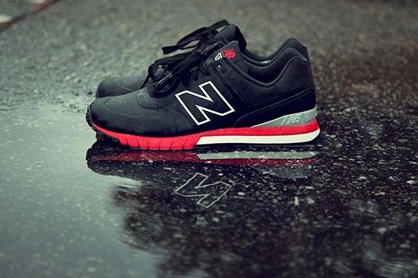 new balance 574 revlite black red