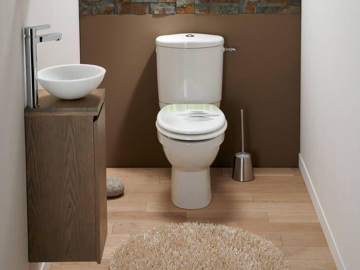 Wc Styles Et Tendances Leroy Merlin Meuble Rangement Stockage De Toilette Deco Wc