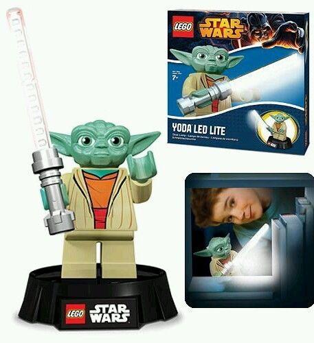 Lego Star Wars Yoda Led Desk Lamp By Santoki Brand New Factory Sealed Star Wars Yoda Lego Star Wars Star Wars Lamp