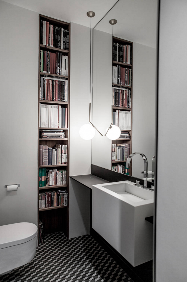 How To Decorate A Bathroom Bookcase | Decorating, House remodeling ...