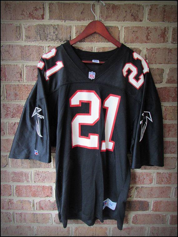 e351e254441 Vintage 90's NFL Atlanta Falcons Deion Sanders Jersey 48 by  CharchaicVintage, $30.00